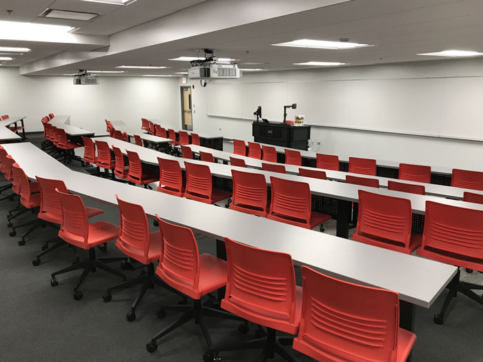 TBH - 78 seat classroom