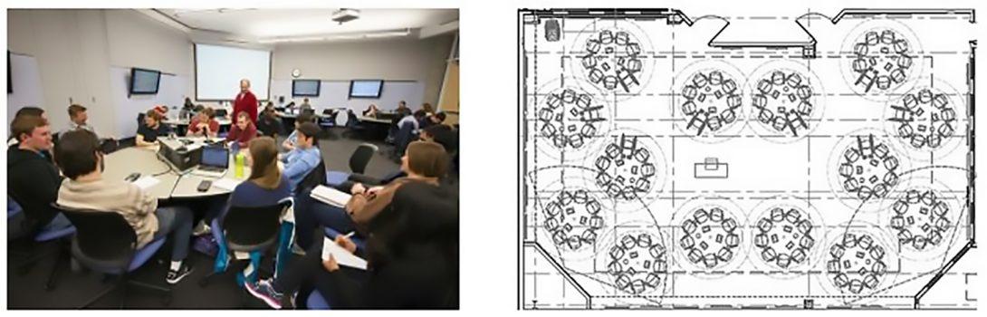University of Minnesota Classroom and Floorplan