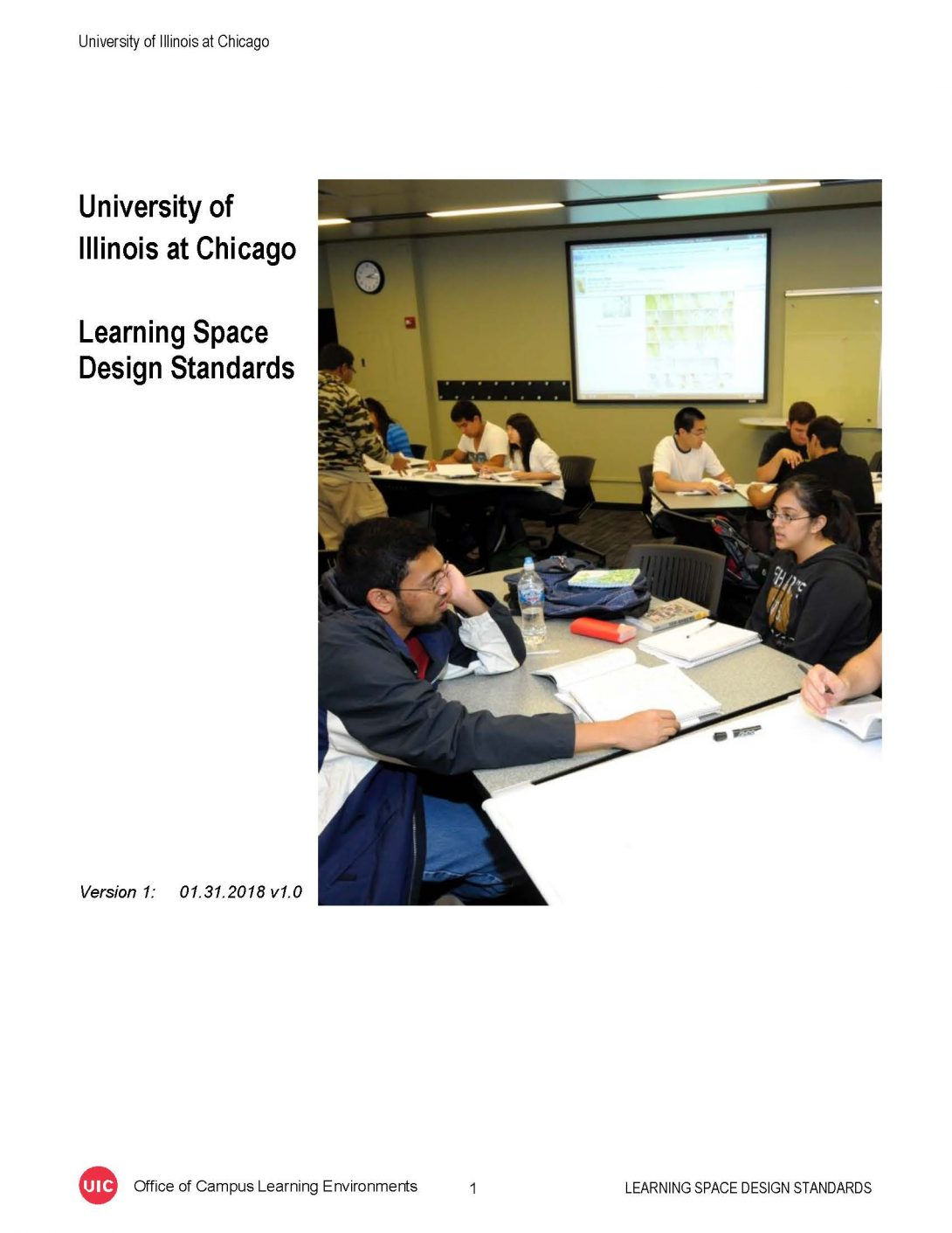 Learning Space Design Standards