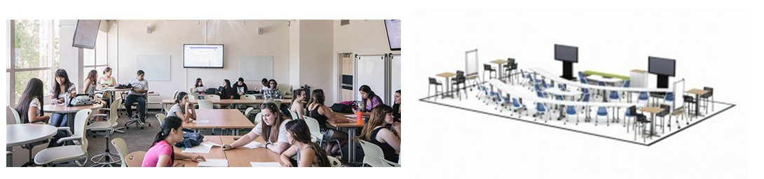 California State University, Fresno classroom and floorplan