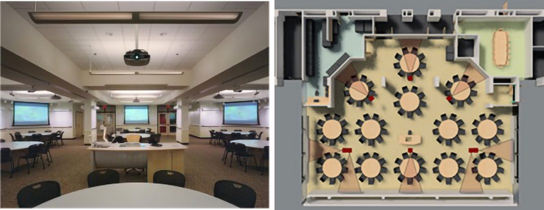 MIT Classroom and floorplan